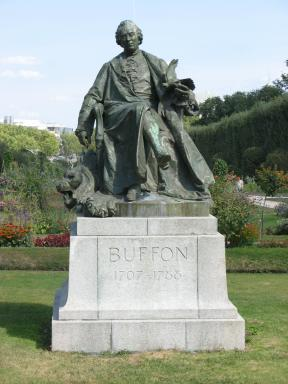 Buffon Statue in Paris
