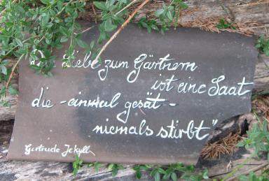 Gertrude jekyll ber hmte g rtnerin gartenarchitektin und - Blumen zitate ...