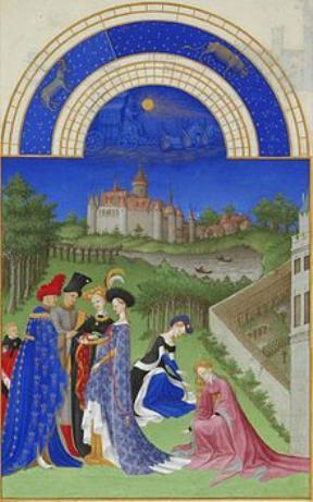 Stundenbuch des Herzogs von Berry April