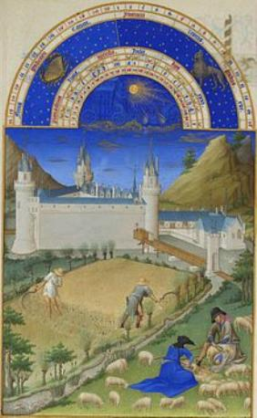 Stundenbuch des Herzogs von Berry Juli