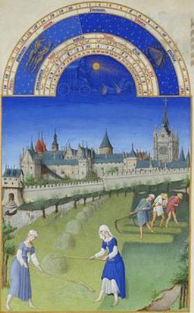 Stundenbuch des Herzogs von Berry Juni